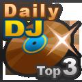 Posição 3 da Tabela diária de DJ