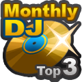 DJ Monthly Charts Rank 3