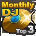 Listas Mensuales de DJ Rank 3